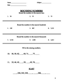 14 Rounding Worksheets
