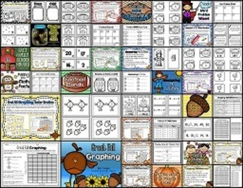 September Math Centers (Differentiated)