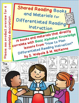14 Shared Reading Books and Activities for Differentiated Reading Instruction