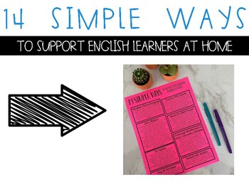 14 Simple Tips to Support English Learners at Home