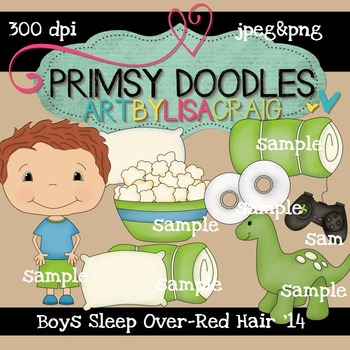 14-Sleep Over Boys-Red 300 dpi clipart