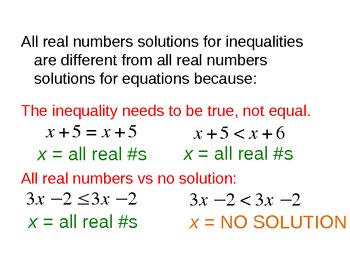 14) Solving Inequalities with Variables on Both Sides (Complete PPT Lesson)