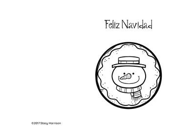 14 - Spanish Christmas Cards, Mixed Theme, Las Tarjetas de Navidad