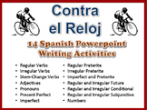 14 Spanish Writing Activities to Practice Various Grammar Topics -14 Powerpoints