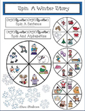 """14 """"Spin a Winter Story"""" Wheels"""
