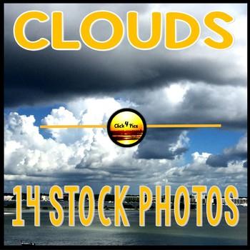 14 Storm Clouds STOCK PHOTOS Pack