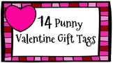 14 Valentine Pun Gift Tags/Cards/Labels - February/Holiday