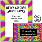 14 Wildly Colorful Shiny Frames
