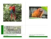 Animal Habitats and Biomes:  14 cm Montessori Classificati