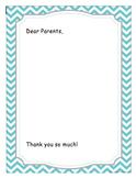 1/4 page parent letter