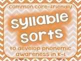 Syllable Sorts for CC RF.2