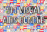 141 Visual Aids Bundle - Boardmaker Visual Aids PECS for A