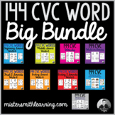 144 CVC Word Big Bundle