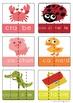 144 Cartes Puzzle alphabet francais pour la conscience phonologique
