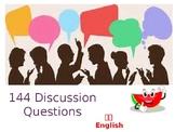 144 ESL Discussion Questions