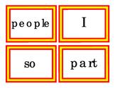 144 Pre-Primer Primer Sight Words Emergent Reader Make Sentences First-Words Cut