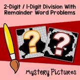 Interpreting Remainders Word Problems Worksheet, Division 2 By 1 Digit Numbers