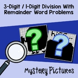One Digit By Three Digit Division Word Problems With Remainders Worksheets