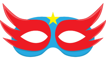 146 Different Superhero Props for Photo Booth Dramatic Play or Reader's Theater
