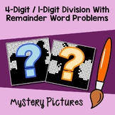 Long Division With Remainders Word Problems, Division 1 Digit By 4 Digit Numbers