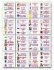 148 Bilingual Classroom Labels (Spanish/English)