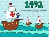 1492: Columbus Day Math and Literacy Activities