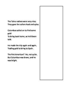 1492 Columbus Poem-Rewriting History