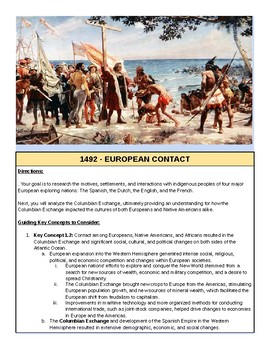 1492 - European