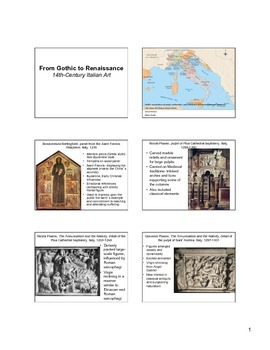 14th Century Italian Art Notes