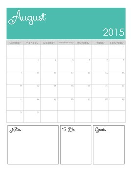15-16 IKAT Teacher Planner w/ Meal & Fitness Planning