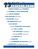 15 ATTITUDE ADJUSTMENTS