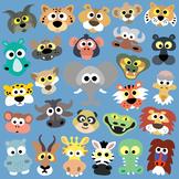 27 African Animals Masks