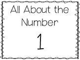 15 All About the Number 1 Tracing Worksheets and Activitie