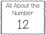 15 All About the Number 12 Tracing Worksheets and Activiti