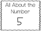 15 All About the Number 5 Tracing Worksheets and Activitie