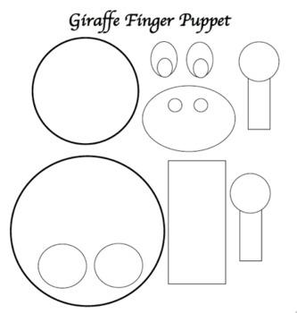 15 Animal Finger Puppets