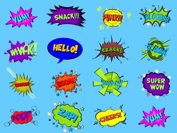 15 Animated Comic 'Bubble & Text' Combos #2