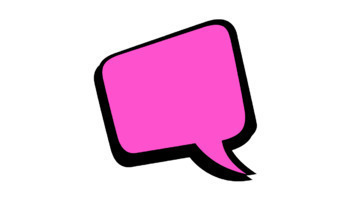 15 Animated Comic Speech Bubbles #1