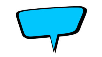15 Animated Comic Speech Bubbles #2