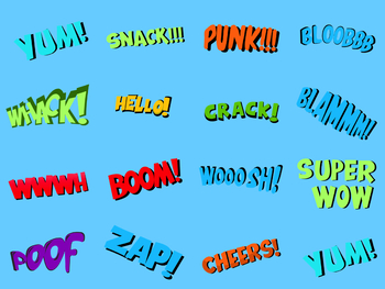 15 Animated Comic Texts #2
