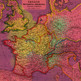 15 Antique Maps on Colorful Grunge Backgrounds, Papers & Textures