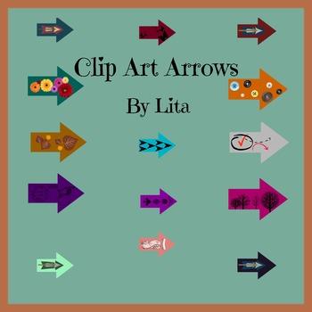 15 Arrows Clip Art