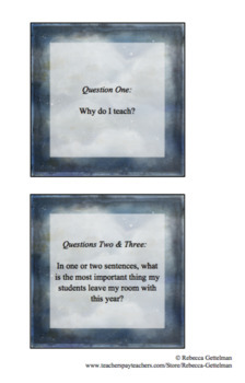 15 Back to School Reflection Questions for Teachers
