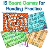 15 No Prep. Board Games for Reading Practice