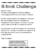 15 Book Challenge!