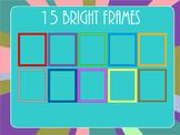15 Bright Frames