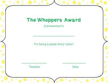 15 Candy Bar Award Certificates for End of Year Classroom Awards