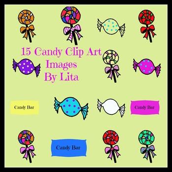15 Candy Clip Art Images