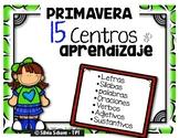 15 Centros de aprendizaje de lectura - La primavera