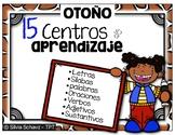 15 Centros de aprendizaje de lectura - Otoño